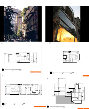 نما و پلان آپارتمان  رادولف اثر  پل رادولف