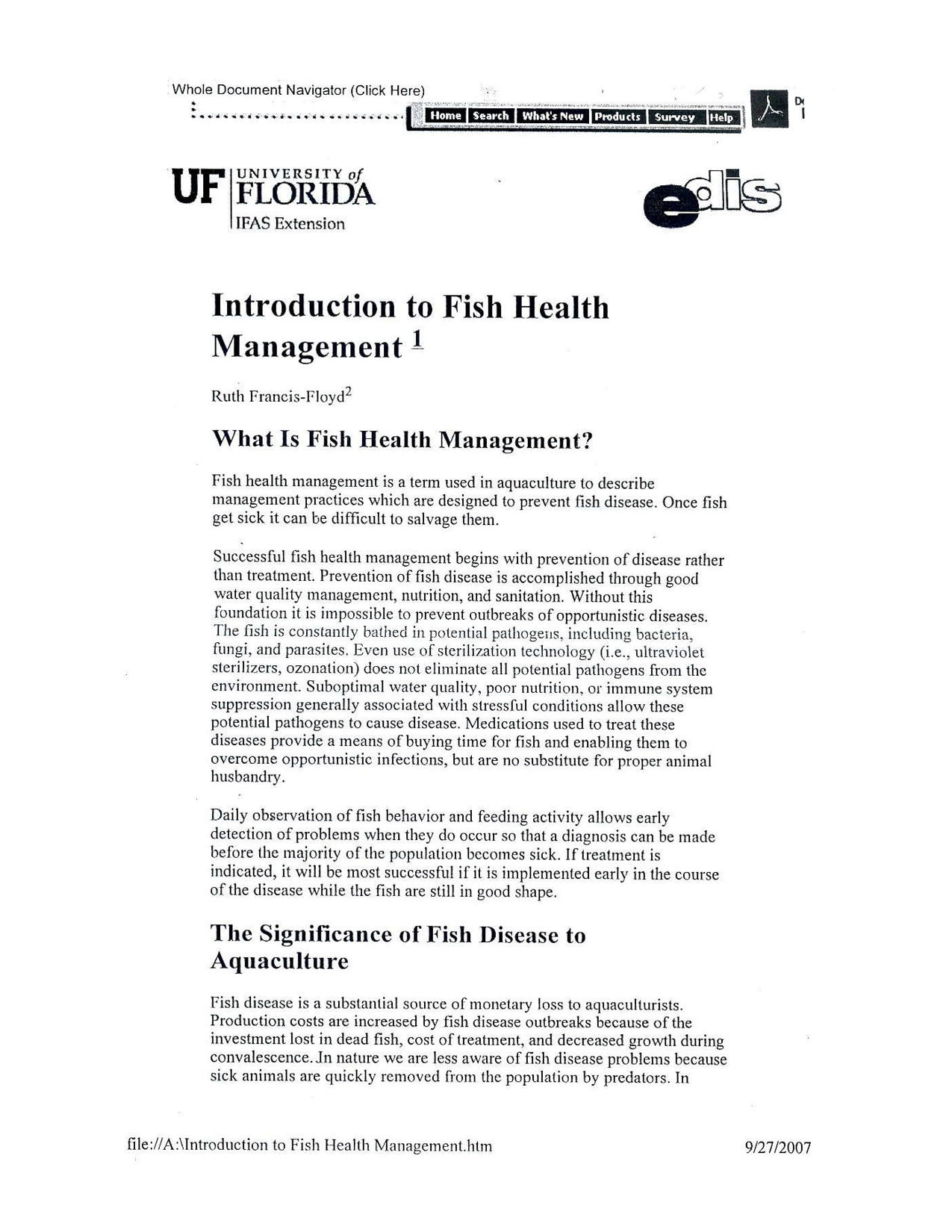 Interoduction to Fish Health Management5