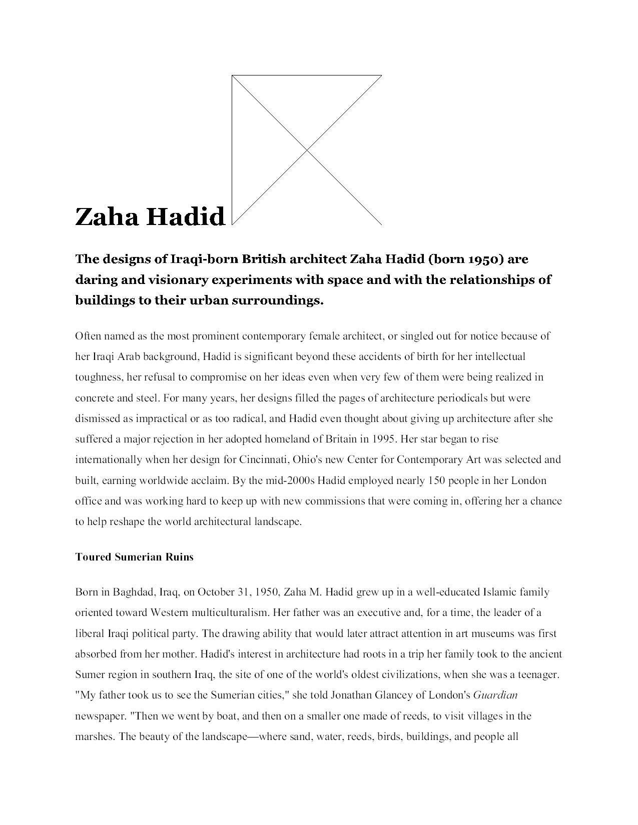 Zaha Hadid13