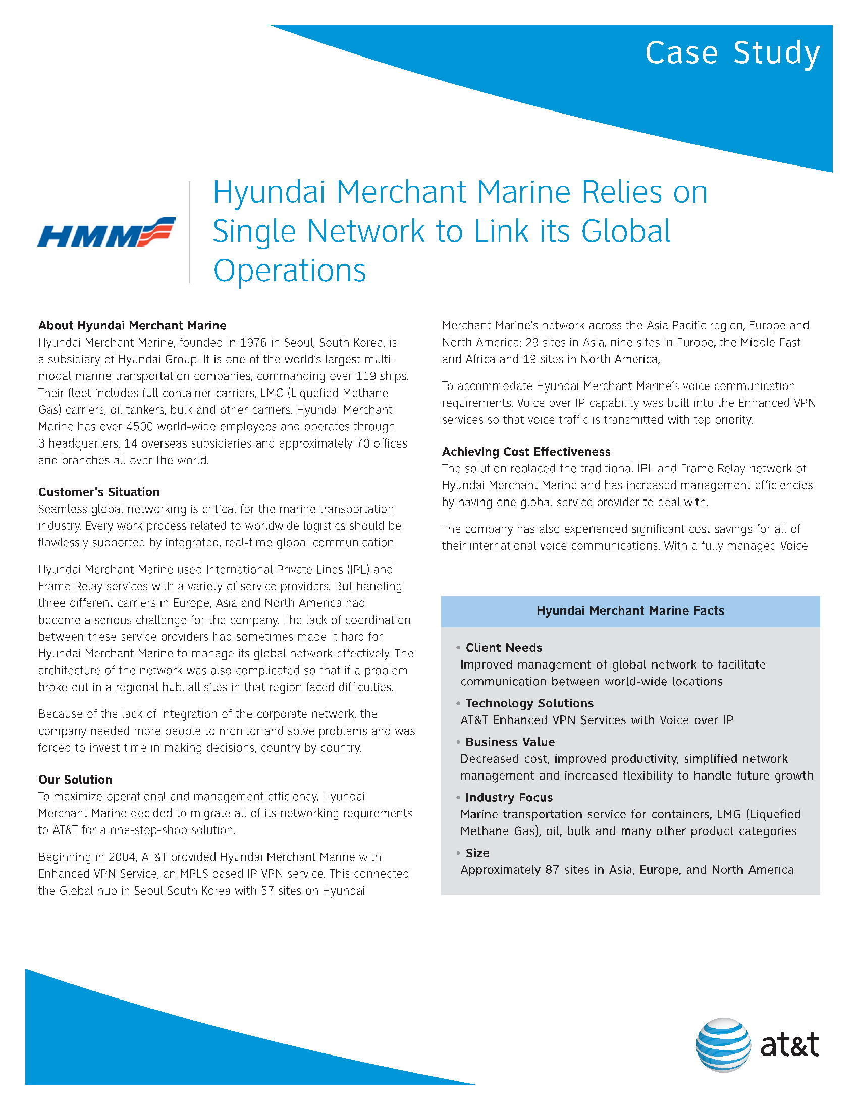 Hyundai Merchant Marine Relies on Single Network to Link its Global Operations 2